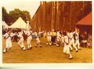 1976: Dancing in the moat of the Tower of London