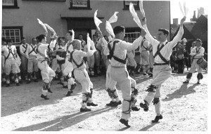 Thaxted 1935: Kenneth Constable dancing No.1
