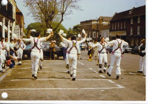 "Tenterden High St on the 1978 ""Rye"" tour"